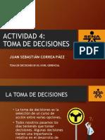 ACTIVIDAD 4 TOMA DE DECISIONES EN EL NIVEL GERENCIAL