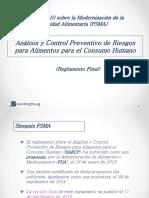 Análisis y Controles Preventivos