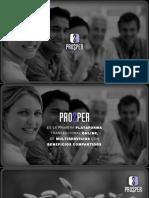 Presentación de negocios de Prozper