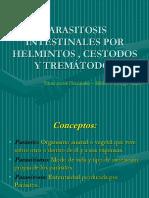 Parasitismo Intestinal Hemiltos y Trematodos