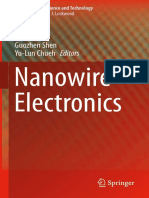 (Nanostructure Science and Technology) Guozhen Shen, Yu-Lun Chueh - Nanowire Electronics-Springer Singapore (2019)