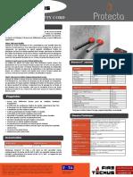 FireTecnus - Protecta FR Putty Cord - Ficha Técnica