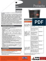 FireTecnus - Protecta FR_coating - Ficha Técnica