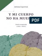 Poesía - Adriana Cupul Itzá