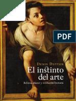 Dutton, El Instinto Del Arte