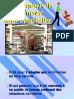 Diaporama CAP Employe de Commerce Multi-specialites