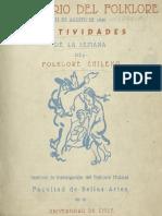 Revista Centenario del folklore