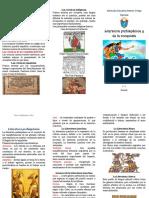 tríptico literatura
