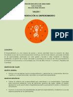 Taller de Emprendimiento - Periodo 3 - INSTITUCIÓN SAN JUDAS TADEO