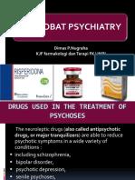 Obat-obat Psychiatry -1 2018