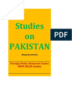 Pakistan-Afghanistan Relations Post-2014 Foreign Policy Research Centre -