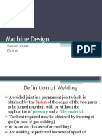 Chapter 10 Welded Joints