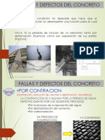 3. Fallas y Defectos Del Concreto.