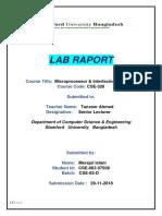 Mi Lab Report