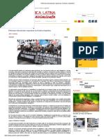 Reformas Estructurales Regresivas en Brasil y Argentina