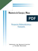 Proyecto Hidroelectrico Tumarin