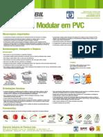 Instruções de Instalação Placa Modular de Pvc