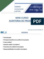 Curso Auditoria de Projetos