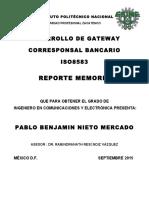 DESARROLLO DE GATEWAY ISO8583