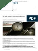 ISO 17025 de Especial Interés en La Industria Minera