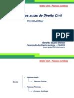 Direito Civil - Pessoa Jurídica