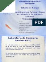 Identificacion de Peligros y Riesgos en el laboratorio