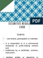 Presentation Securities Regulation Code (1)