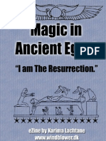 """Magic in Ancient Egypt - """"I am the Resurrection"""""""