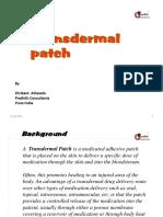 Transdermal patch