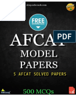 AFCAT Model Papers 2018 SSBCrack