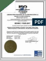 EJEMPLO ISO 17025 2017