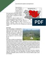 22 Departamentos de Guatemala Información Completa de Cada Departamento