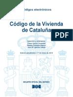 BOE-161 Codigo de La Vivienda de Cataluna