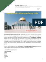 Whatsappgrouplink.org-IslamMuslim Whatsapp Group Links