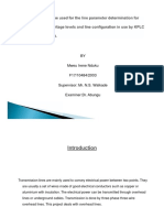 Software Package to Be Used for the Line Parameter Determination for Standard Operating Voltage Levels and Line Configuration in Use by Kplc to Be Used as an Input-presentation_0