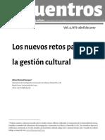 Los nuevos retos para la gestio9n cultural N°8- Martinell_0