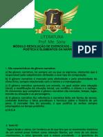 Plataforma Elite Il Modulo Resolução Linguagem Poética
