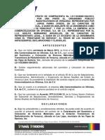 Adendum Contrato