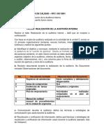 CaTaller Realizacion de La Auditoria Interna
