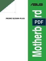 Manual em Português PT-BR para a placa-mãe ASUS PRIME B250M-PLUS/BR