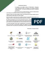 Comunicado Prensa EGEDA