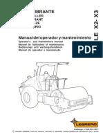 x2 y x3 Operador Manual