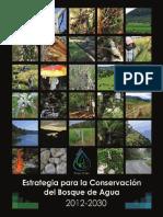 Estrategia Bosque de Agua