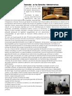 Principios Generales en Los Derechos Administrativos
