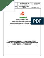 Lineamiento Tecnico Calentadores a Fuego Directo DCO-SCM-LT-006