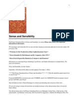 Sense and Sensibility(2)