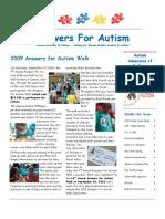 Fall 2009 Newsletter