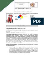 Extintor de Dioxido de Carbono Co2