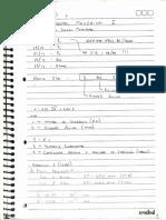 Caderno Componentes I - 1ª Área