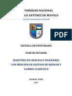 p36 Gestion de Riesgo y Cambio Climatico